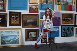 Cosondra Sjostrom posing (via LA Weekly; posted in 2017) [7]