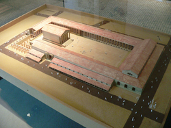 model of forum of Lutetia, Musée Carnavalet