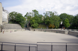 The Arènes de Lutèce in the 5th arrondissement of Paris
