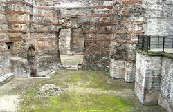 Thermes de Cluny - caldarium