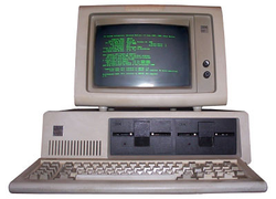 1981                                 IBM 5150                                computer.