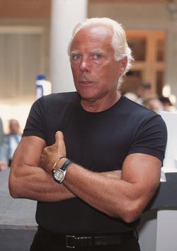 Giorgio Armani, in September 1997