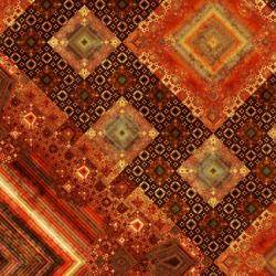 "Detail from a "" Fibonacci word "" work of fractal art, a type of algorithmic art, by Samuel Monnier"