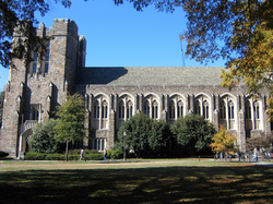 The Gothic Reading Room of Perkins Library
