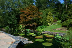 The Sarah P. Duke Gardens attract more than 300,000 visitors each year.