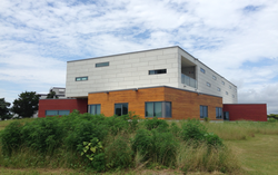 The Orrin Pilkey research laboratory at the Duke University Marine Lab in Beaufort, NC.