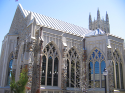 Part of the Divinity School addition, Goodson Chapel
