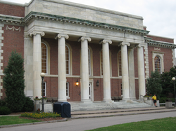 East Campus' Union building, home to the freshman dining hall