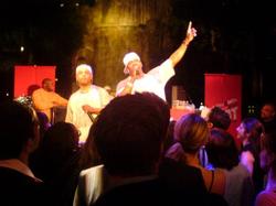 Busta Rhymes performing in 2006