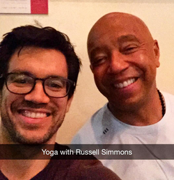 Tai with Russell Simmons.