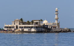 The Haji Ali Dargah was built in 1431, when Mumbai was under the rule of the Gujarat Sultanate