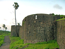 The Madh Fort built by the Portuguese, was one of the most important forts in Salsette.