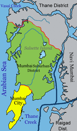 Mumbai consists of two revenue districts
