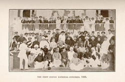 First session of the Indian National Congress in Bombay (28–31 December 1885)