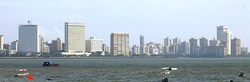 Mumbai city skyline