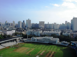 Brabourne Stadium, one of the oldest cricket stadiums in the country