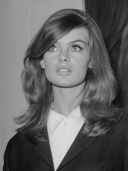Jean Shrimpton in 1965