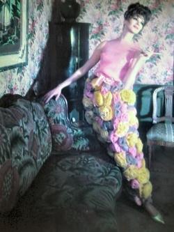 Wilhelmina Cooper, founder of her agency Wilhelmina Models, photographed by Edgar de Evia in 1965.