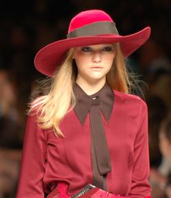 Gemma Ward, a doll-faced Australian model