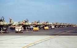 Kuwait Air Force                                                 McDonnell Douglas A-4KU Skyhawk                                                 ground-attack aircraft                                .