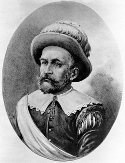 Peter Minuit, early 1600s.