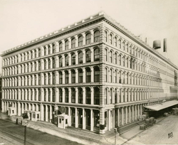 A. T. Stewart in 1870, 9th Street, Manhattan
