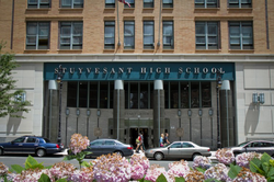 Stuyvesant High School, highly regarded as one of the best public high schools in the country