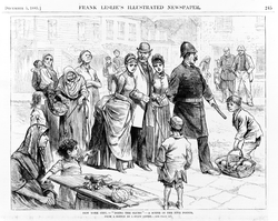 A slum tour through the Five Points in an 1885 sketch