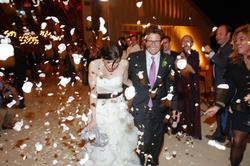 Wedding photo of Jessica andSamuel Lessin