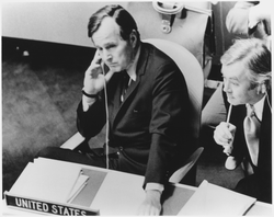 Bush as ambassador to the United Nations, 1971