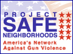 Federally supported gun violence intervention program
