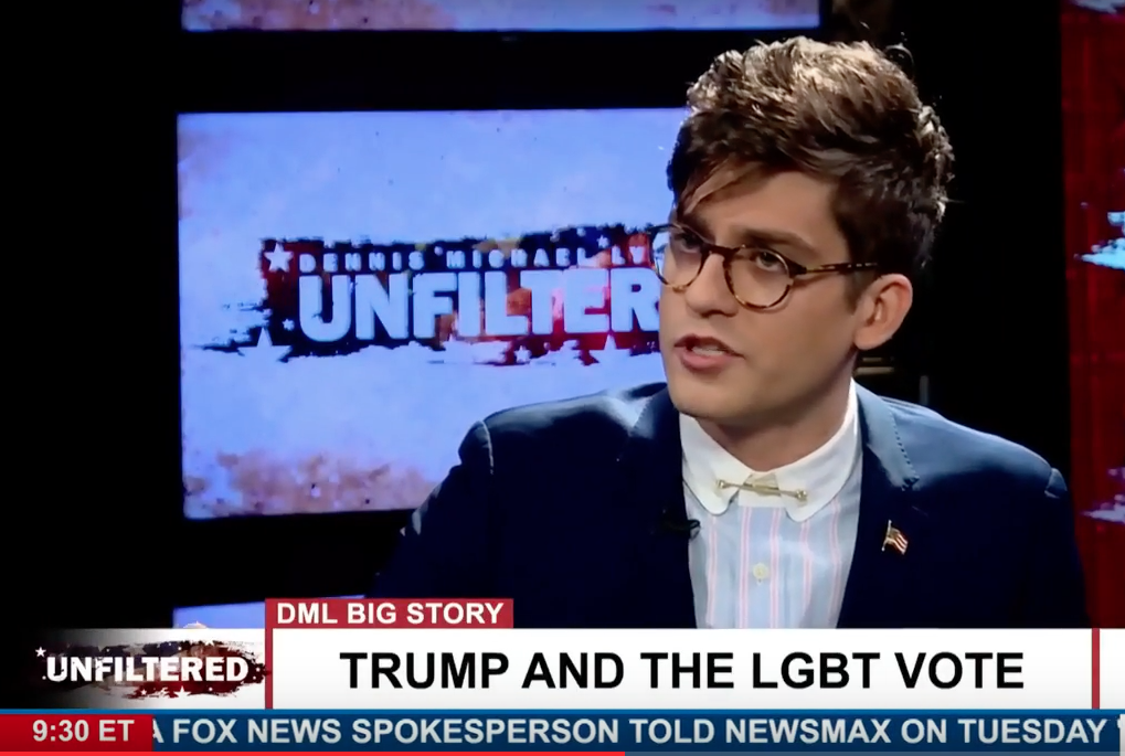 Lucian Wintrich on Trump and LGBT community