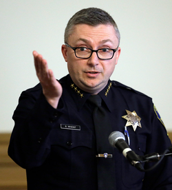 Sean Whent, who was Oakland Police Chief, resigned last Thursday