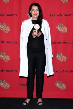 Marina Abramović at the 72nd Annual Peabody Awards