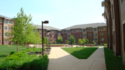 Liberty Square housing complex on the Fairfax campus