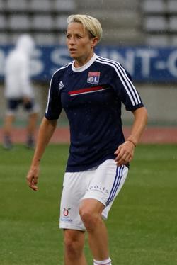 Rapinoe with Olympique Lyonnais
