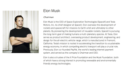Elon Musk file on SolarCity. He is chairman.
