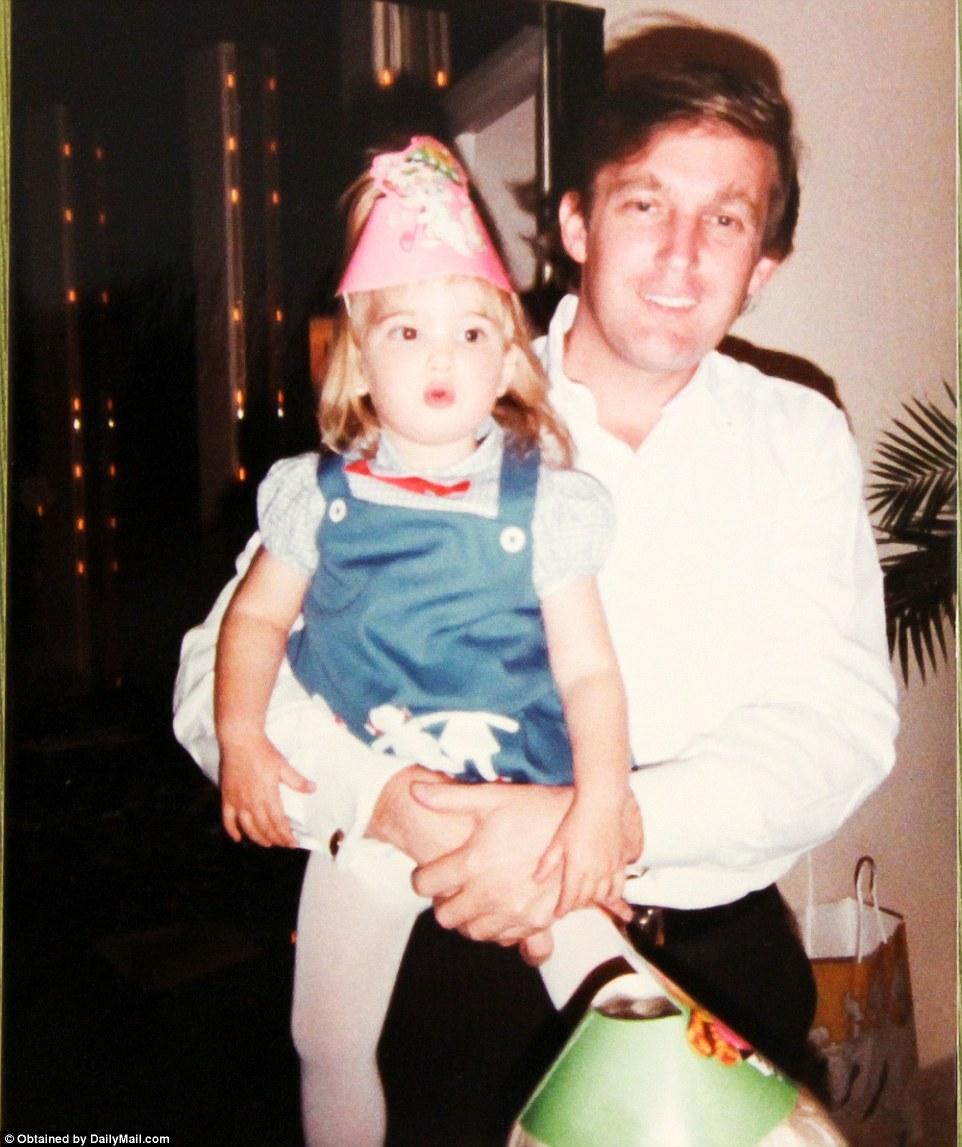 Donald and babyIvanka Trump