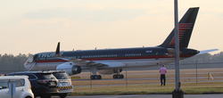 One of Trump's assets is a                                 Boeing 757-200ER                                airliner.                                                   [164]                                                                                    [165]