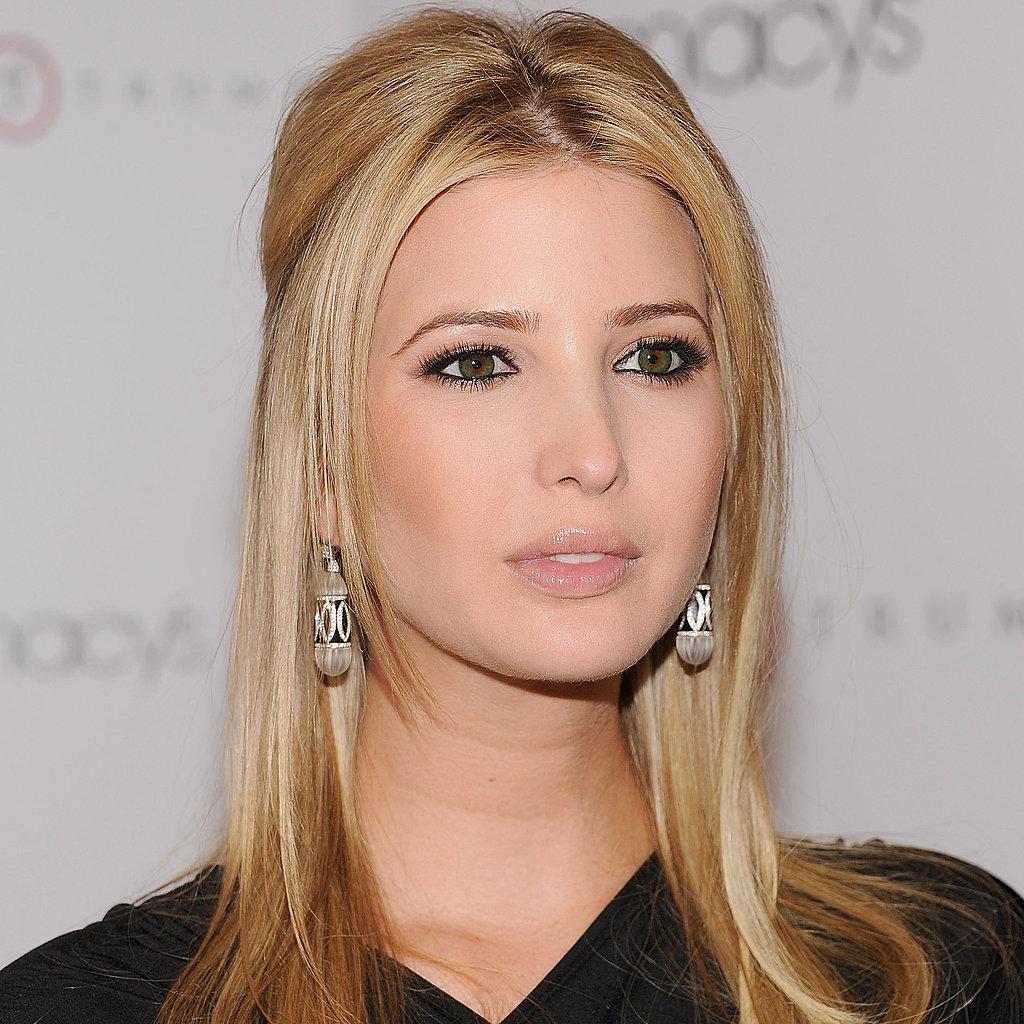 Trump's eldest daughter Ivanka in 2011