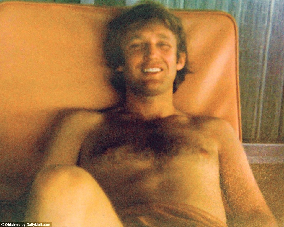 Donald lounging at hisPalm Beach property Mar-a-Lago (now worth $250 million)