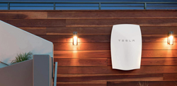 The Tesla PowerWall, used for homes.