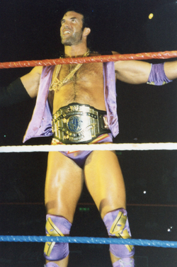 Ramon during his second WWF Intercontinental Championship reign.