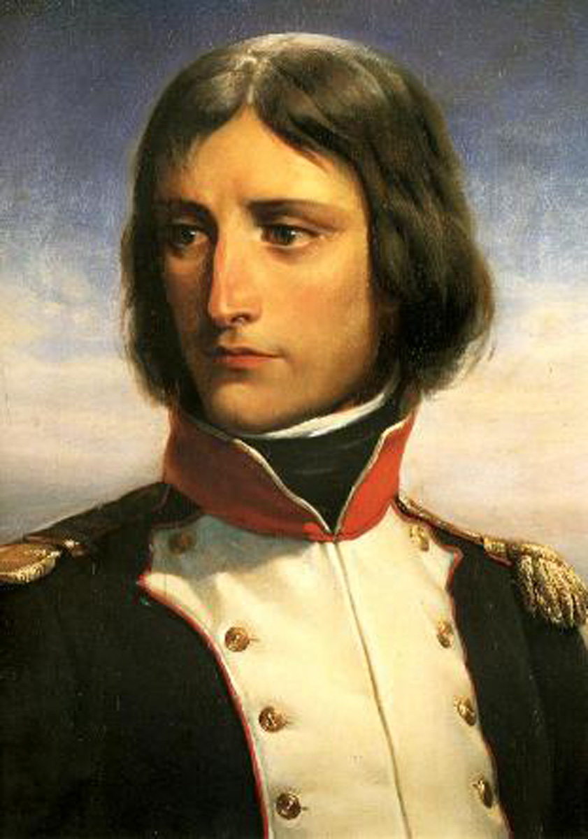 Napoleon Bonaparte, aged 23, lieutenant-colonel of a battalion of Corsican Republican volunteers