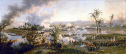 Battle of the Pyramids on 21 July 1798 by Louis-François, Baron Lejeune, 1808