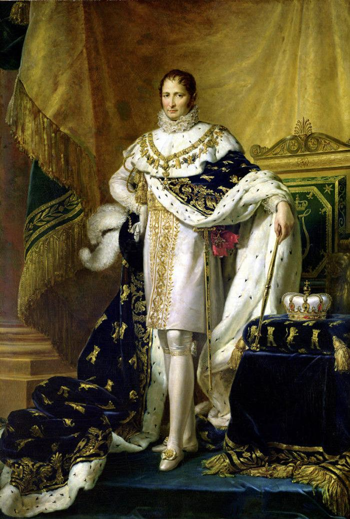 Joseph Bonaparte, Napoleon's brother, as King of Spain