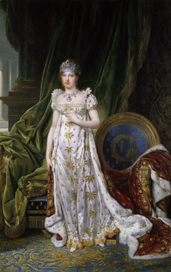 Napoleon's second wife, Marie-Louise