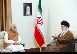 Modi with Iran's Supreme Leader Ayatollah Ali Khamenei, 24 May 2016