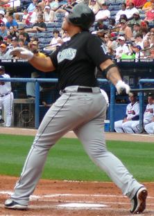 Cabrera with the Florida Marlins in 2007