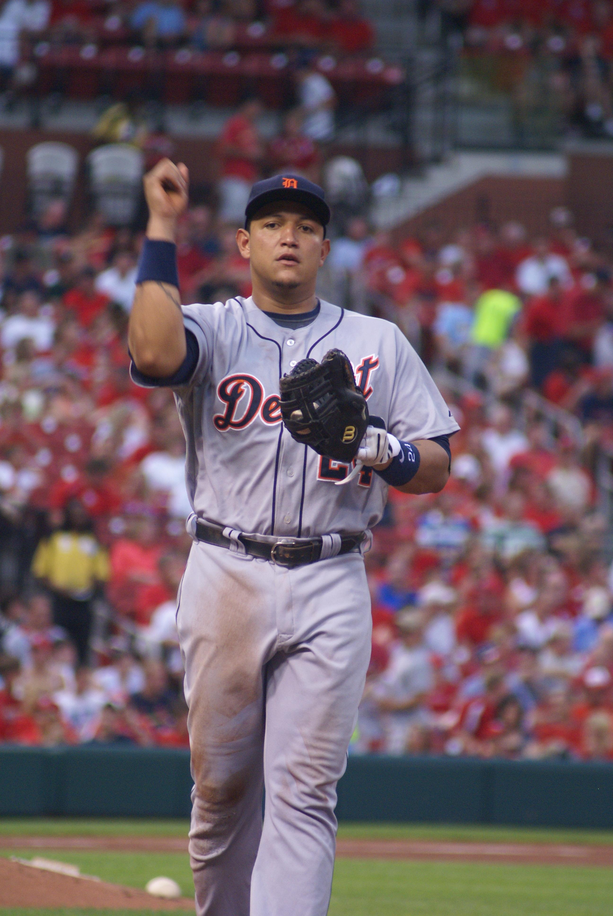 Cabrera in 2009